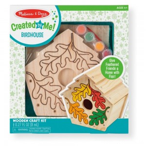 Melissa & Doug Build-Your-Own Wooden Birdhouse Craft Kit Clearance Sale