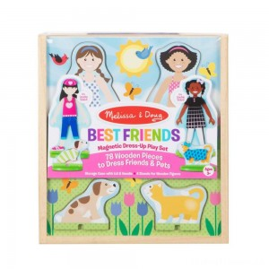 Melissa & Doug Best Friends Dress Up Clearance Sale