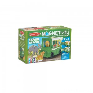 Melissa & Doug Magnetivity - Safari Rescue Clearance Sale