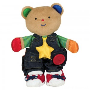 Melissa & Doug K's Kids - Teddy Wear Stuffed Bear Educational Toy Clearance Sale