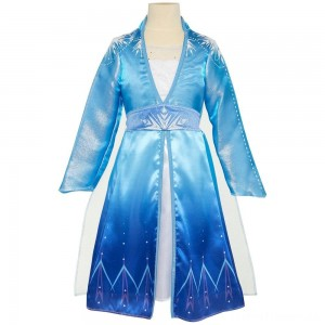 Disney Frozen 2 Elsa Travel Dress, Size: Small, MultiColored Clearance Sale