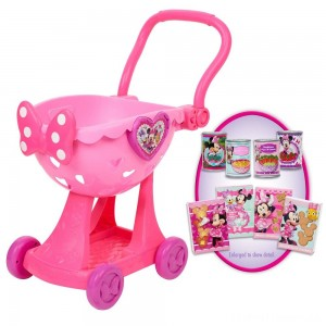 Disney Minnie's Happy Helpers Bowtique Shopping Cart Clearance Sale