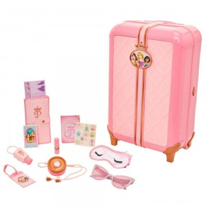 Disney Princess Style Collection Play Suitcase Travel Set Clearance Sale