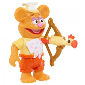 Disney Junior Muppet Babies Poseable Fozzie Clearance Sale