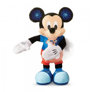 Mickey Mouse Hot Dog Dance Break Plush Clearance Sale