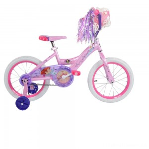 "Huffy Disney Princess Bike 16"" - Pink, Girl's Clearance Sale"