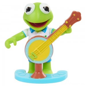 Disney Junior Muppet Babies Poseable Kermit Clearance Sale