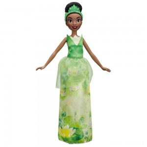 Disney Princess Royal Shimmer - Tiana Doll Clearance Sale
