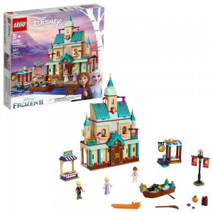 LEGO Disney Princess Frozen 2 Arendelle Castle Village 41167 Toy Castle Building Set for Imaginative Play Clearance Sale