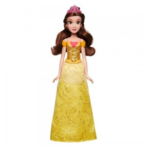 Disney Princess Royal Shimmer - Belle Doll Clearance Sale