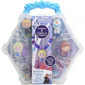 Disney Frozen 2 Necklace Activity Set Clearance Sale