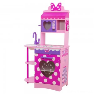 KidKraft Disney Jr. Minnie Mouse Toddler Kitchen Clearance Sale