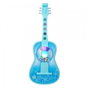 Disney Frozen Magic Touch Guitar with Lights and Sounds Clearance Sale
