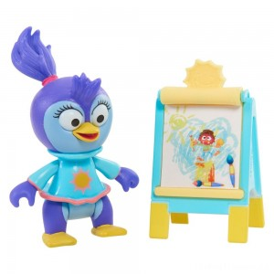 Disney Junior Muppet Babies Poseable Summer Penguin Clearance Sale