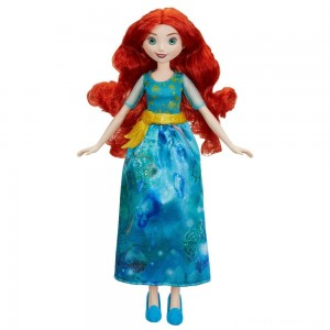 Disney Princess Royal Shimmer - Merida Doll Clearance Sale