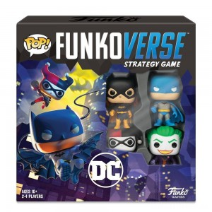 Funkoverse Board Game: DC Comics #100 Base Set Clearance Sale