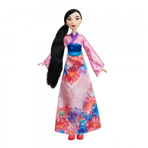 Disney Princess Royal Shimmer - Mulan Doll Clearance Sale