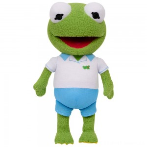 Disney Junior Muppet Babies Kermit Plush Clearance Sale