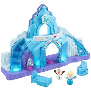 Fisher-Price Little People Disney Frozen Elsa's Ice Palace Clearance Sale