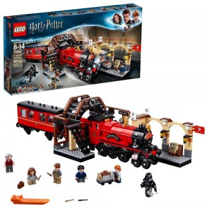 LEGO Harry Potter Hogwarts Express Train Set with Harry Potter Minifigures and Toy Bridge 75955 Clearance Sale