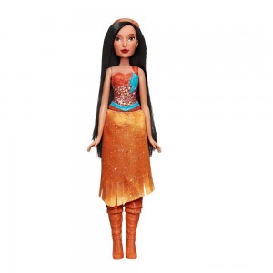 Disney Princess Royal Shimmer - Pocahontas Doll Clearance Sale