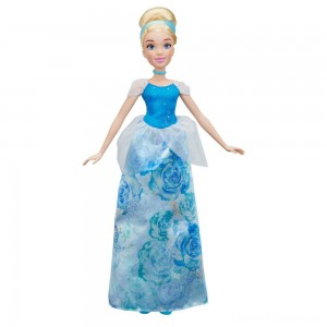 Disney Princess Royal Shimmer - Cinderella Doll Clearance Sale