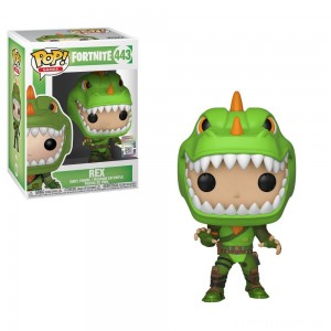 Funko POP! Games: Fortnite - Rex Clearance Sale