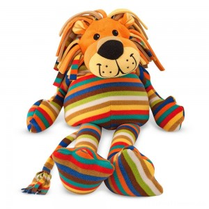 Melissa & Doug Elvis Lion - Patterned Pal Stuffed Animal Clearance Sale