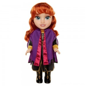 Disney Frozen 2 Anna Adventure Doll Clearance Sale