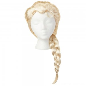Disney Frozen 2 Elsa Wig, Yellow Clearance Sale