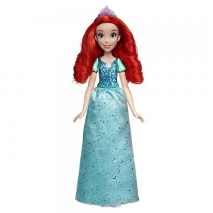 Disney Princess Royal Shimmer - Ariel Doll Clearance Sale