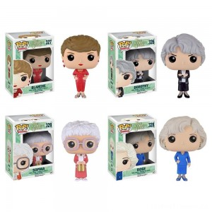 Funko Golden Girls: POP! TV Collectors Set; Sophia, Rose, Blanche, Dorothy Clearance Sale