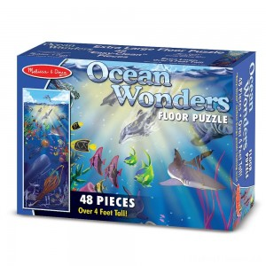 Melissa & Doug Ocean Wonders Jumbo Jigsaw Floor Puzzle 48pc Clearance Sale