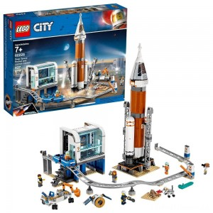 LEGO City Space Deep Space Rocket and Launch Control 60228 Model Rocket Building Kit with Minifigures Clearance Sale