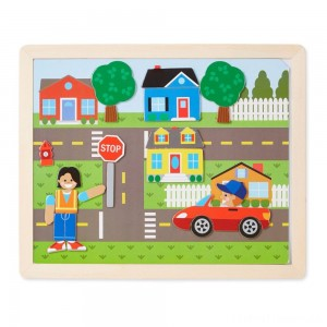 Melissa & Doug Magnetic Matching Picture Game 119pc Clearance Sale