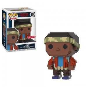 Funko 8-Bit POP: Stranger Things S3 - Lucas Clearance Sale