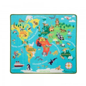 Melissa & Doug Round the World Travel Activity Rug Clearance Sale