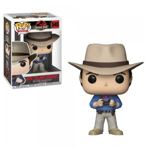 Funko POP! Movies: Jurassic Park 25th Anniversary - Dr. Alan Grant - Minifigure Clearance Sale