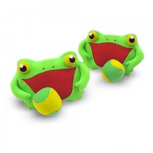 Melissa & Doug Sunny Patch Froggy Toss and Grip Catching Game With 2 Balls Clearance Sale