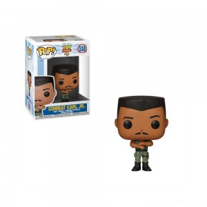 Funko POP! Disney: Toy Story 4 - Combat Carl Jr. Clearance Sale
