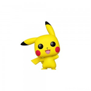 Funko POP! Games: Pokemon - Pikachu (Waving) Clearance Sale