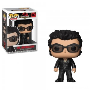 Funko POP! Movies: Jurassic Park 25th Anniversary - Dr. Ian Malcolm - Minifigure Clearance Sale