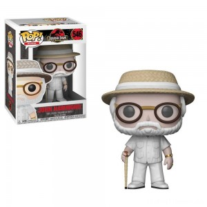 Funko POP! Movies: Jurassic Park 25th Anniversary - John Hammond - Minifigure Clearance Sale