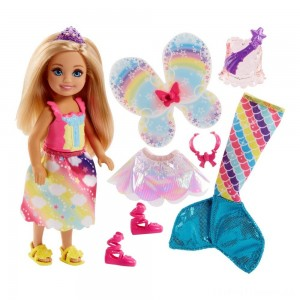 Barbie Dreamtopia Chelsea Doll and Fashions Clearance Sale