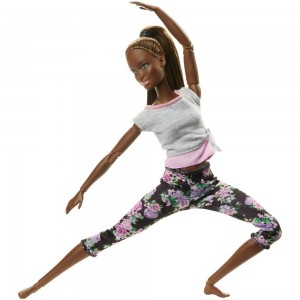 Barbie Made To Move Yoga Nikki Doll Clearance Sale