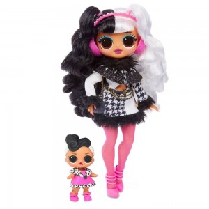 L.O.L. Surprise! O.M.G. Winter Disco Dollie Fashion Doll & Sister Clearance Sale