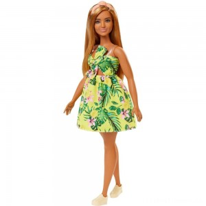 Barbie Fashionistas Doll #126 Jungle Dress Clearance Sale