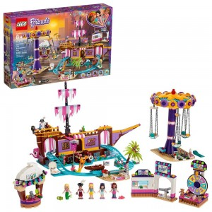 LEGO Friends Heartlake City Amusement Park with Toy Rollercoaster Building Set with Mini Dolls 41375 Clearance Sale