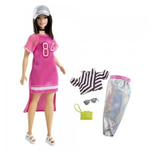Barbie Fashionista Hot Mesh Doll Clearance Sale