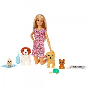 Barbie Doggy Daycare Doll & Pets Clearance Sale